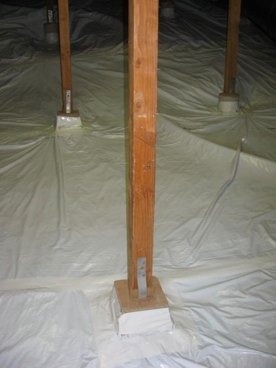 Crawlspace<br>Soil-Gas Barrier